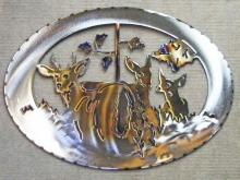 deer,buck,doe,fawn,forest,animals,art