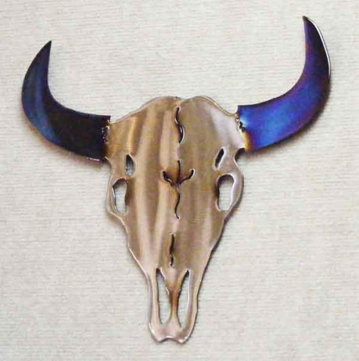 buffalo,bison,skull,steer,plains,wildlife,art