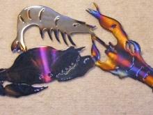 louisiana,seafood,crab,shrimp,crawfish,boil,marsh,bay,gulf,art
