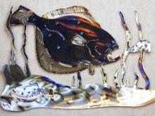 flounder,shrimp,fish,bay,gulf,ocean,marine,art