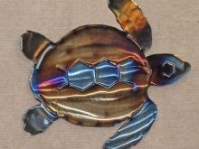 sea,turtle,ridley,gulf,coast,conservation,metal,art