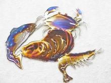 seafood,crab,shrimp,oyster,fish,marine,gulf,coastal,art