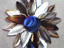 sunflower,flower,sun,mesmerizing,torch,metal,art