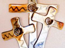 christian,cross,trinity,metal,religious